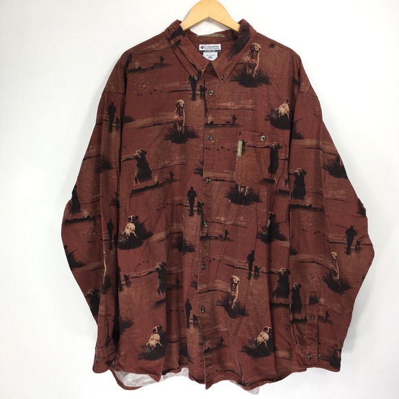 Columbia Other - Columbia 4XT Shirt Button Down Front River Lodge